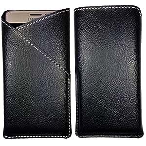 XOLO Q1010 - Pu Leather Mobile Pouch Cover (Be Unique Buy Unique ) Buy It Now By eSyon