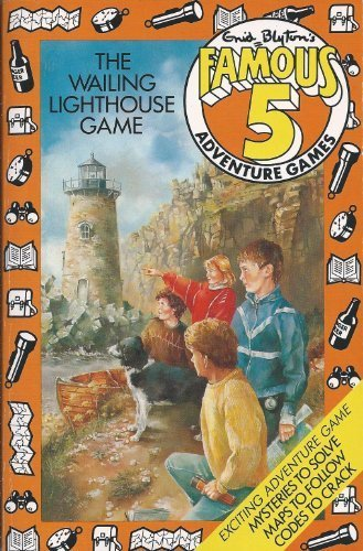 The Wailing Lighthouse Game (Famous Five Adventure Games) by Enid Blyton (1986-11-01)