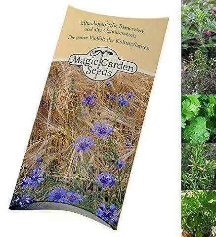 Kit de graines: 'Herbes fraîches aux cocktail', 5 variétés d'herbes populaires pour infuser vos cocktails, dans une enveloppe agréable, le cadeau idéal pour les amateurs de boissons créatives