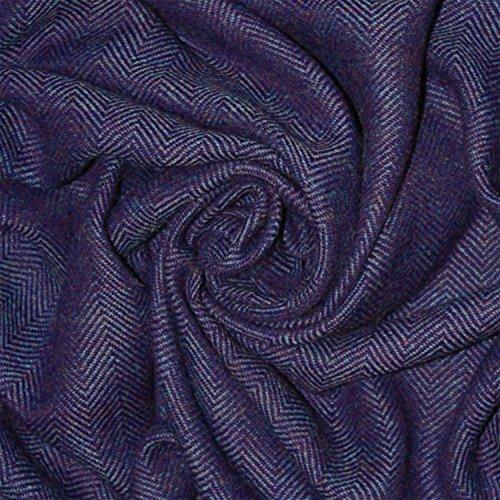 Lorenzo Cana High End Luxus Alpakadecke 100% Alpaka Fair Trade Decke Wohndecke handgewebt Sofadecke Tagesdecke Kuscheldecke -
