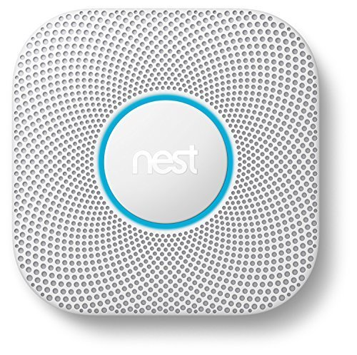 Nest Protect 2nd Gen Smoke + Carbon Monoxide Alarm, Battery by Nest Labs