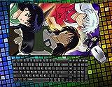 Hot Anime Inu Yasha/Inu Yasha, eine feudalen Märchen Inu Gute Kagome Higurashi Sesshomaru großes Mauspad Anime Schreibtisch & Maus Pad Tisch Play Matte, 32, 60cmx35cmx2cm