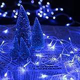 HG 60M 600 LED Lichterketten Blau 31V Weihnachtschmuck Weihnachtsbeleuchtung Wasserdicht 8 Funktiontyp Memory Weihnachtsfest Party Festlich Tannenbaum Aussen Garten Fassaden Fenster Schaufenster