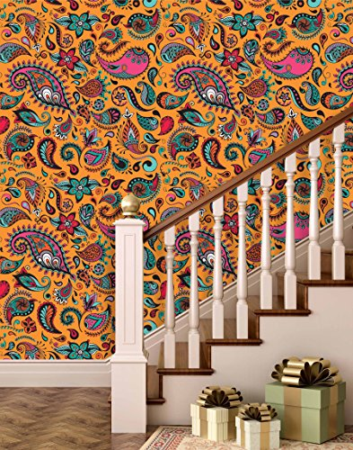 Buy PRINTELLIGENT Peel And Stick Wallpaper (Self Adhesive) Wallpaper Home  Decor Room Decor Wallpaper On Amazon | PaisaWapas.com