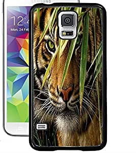 ColourCraft Tiger Look Design Back Case Cover for SAMSUNG GALAXY S5