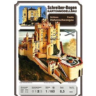 Aue-Verlag 48 x 27 x 21 cm Hohenschwangau Castle Model Kit