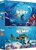Le Monde de Nemo + Le monde de Dory [Blu-ray]
