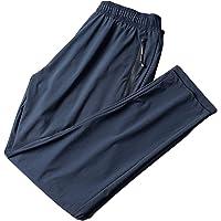Tao, pantaloni da ginnastica da uomo, in seta ghiacciata, ad asciugatura rapida, pantaloni lunghi casual con elastico in…
