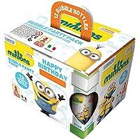 Dulcop - 103.659000  - Pack de 12 Bulles de savon  - Moi/Moche/Méchant - Minions Bubbles Party - 60 ml