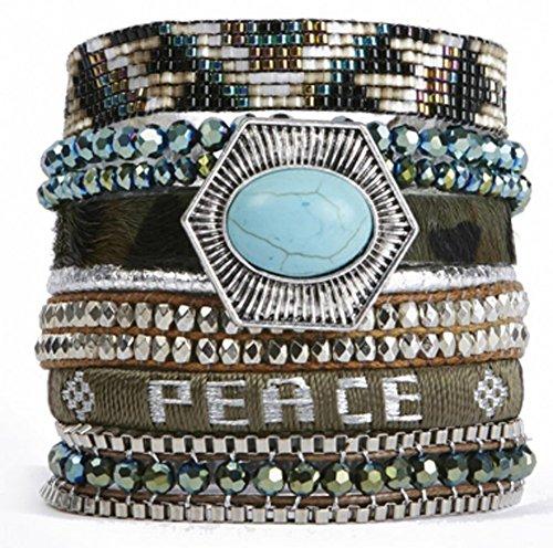 Bracelet Magnetized Brazilian Glamour Jewelry ()