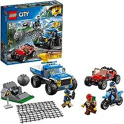 LEGO City - La course-poursuite en montagne - 60172 - Jeu de Construction