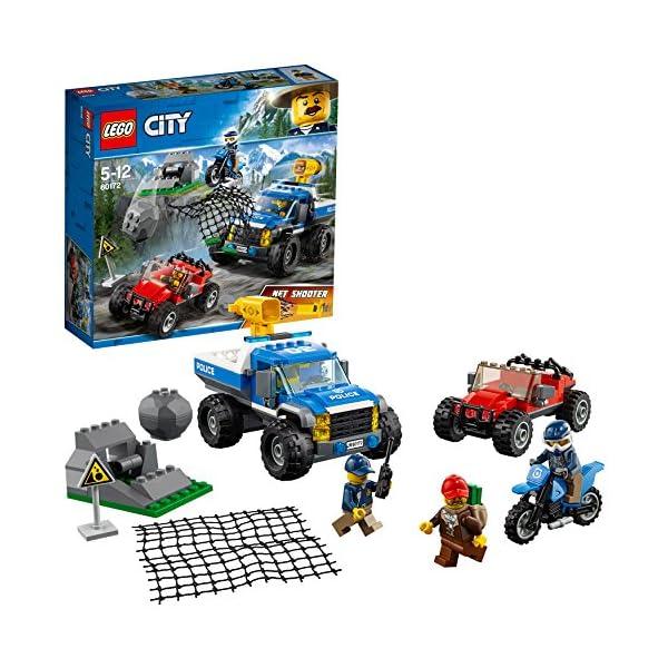 LEGO- City PoliceDuello Fuori Strada, Multicolore, 60172 1 spesavip