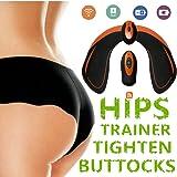 LANGSTAR Appareil de Fesse, Intelligent Hips Trainer EMS Ceinture Massage Musculaire Fessier Electrostimulateur avec Télécommande Rechargeable pour Gym Maison Bureau Femmes Hommes