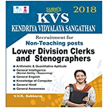 KVS Non Teaching Posts Lower Division Clerks and Stenographers Exam Books 2018
