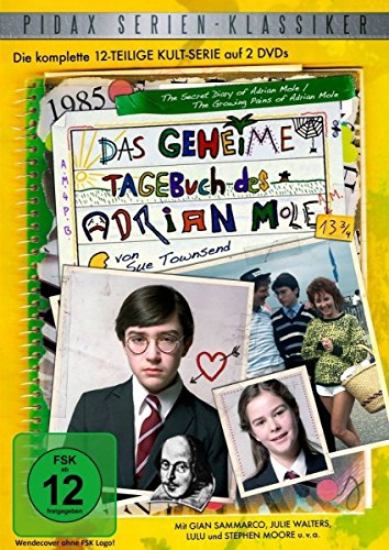 Das geheime Tagebuch des Adrian Mole 13 3/4 - Die komplette 13-teilige Kultserie (Pidax Serien-Klassiker) [2 DVDs] (Adrian Mole-tagebücher)