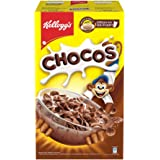 Kellogg's Chocos, with Protein & Fibre of 1 Roti* in Each Bowl**, High in Calcium & Protein, with 10 Essential Vitamins & Min