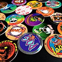 POGS 20 Assorted MILKCAPS - CANADA GAMES Red Back POGMAN - Ultra Rare - POG