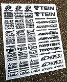 RC Drift sticker aufkleber Tamiya HPI Losi Drift-R Kyosho