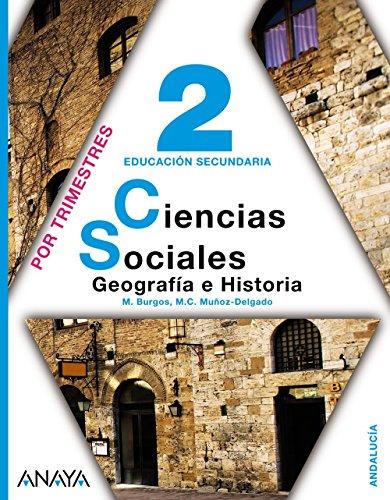 Ciencias Sociales: Geografía e Historia, 2, Educación Secundaria, 3 volúmenes (Andalucía) - 9788420759234