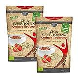 borchers bff Bio Chia Super Topping Quinoa-Erdbeere 2er Pck 2x 200g)