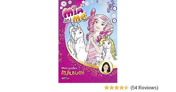 Mia and me - Mein großes Malbuch: Amazon.de: Bücher