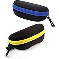 AT TECH Zipper/Hook Cases/Cover/Pouch For Eyewear,Sunglasses,Spectacles & Goggles For Men & Women. (Combo Of 2) (MULTI…