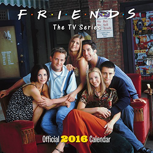The Official Friends TV 2016 Square Calendar