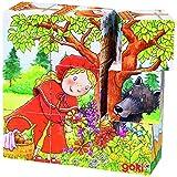 Goki 57542 - Würfelpuzzle - Märchen