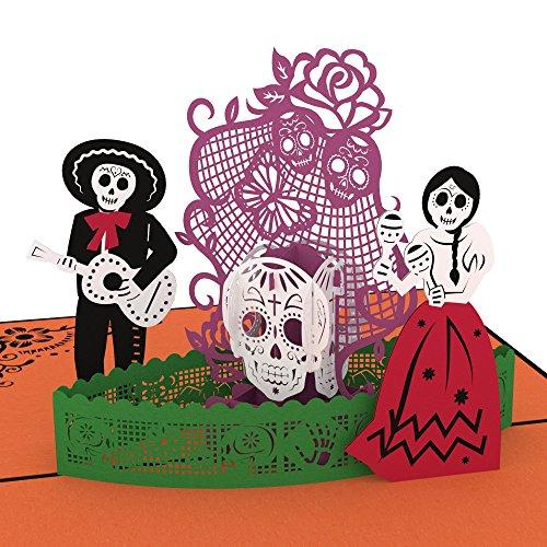 lovepop Day Of The Dead 3D Pop-Up Karte, Karte, Halloween Karte