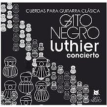 Juego de cuerdas Gato Negro Luthier para guitarra clásica y concierto