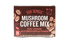 Four Sigma Foods Coffee–con fungo Chaga & Cordyceps 10bustine