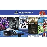 PlayStation VR - MK4 Méga Pack 2 - 5 Jeux (VR Worlds + Skyrim + Astrobot + Everybody's Golf + Resident Evil 7) [Edizione: Fra