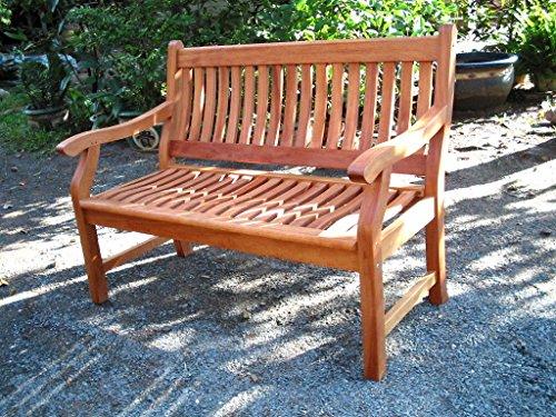 Gartenbank NEW JERSEY, 4-Sitzer, Holzbank aus Hartholz 188 cm