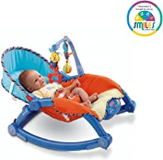 Smiles Creation Portable Foldable Rocker and Crib for New-Borns and Toddlers