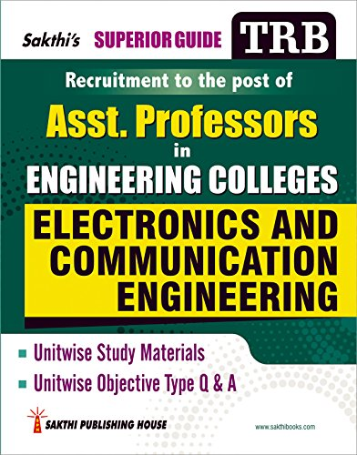 TRB Electronics & Communication Engineering (Assistant Professors in Engineering Colleges)