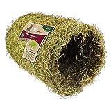 nanook Hansepet 1x Heu-Tunnel Kaninchen-Futter Futter-Höhle, Nager, groß L, 1kg