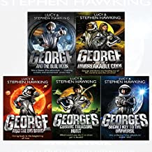 george's secret key to the universe series stephen hawking 5 books collection set (george's secret key to the universe,george's cosmic treasure hunt,george and the big bang,george and the blue moon,george and the unbreakable code)