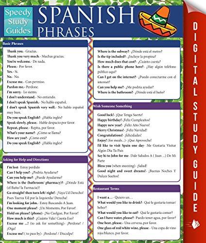 Spanish Phrases (Speedy Study Guides) por Speedy Publishing