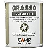 Camp GRASSO CUSCINETTI, Grasso Lubrificante al Litio Complesso E.P., NLGI2 ad Alte Prestazioni, per Cuscinetti, Anti-ruggine
