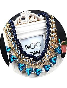 Kette Damen Party Outfit Choker Halskette Partykette