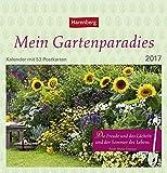 Mein Gartenparadies - Kalender 2017 - Harenberg-Verlag - Postkartenkalender mit