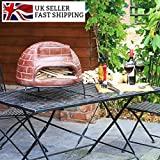 Garden Outdoor Wood Fired Pizza Oven Stone Baked BBQ Barbecue Inc Peel Rake