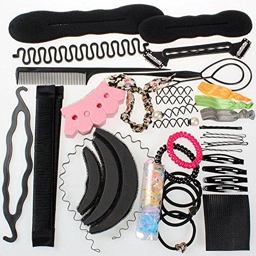 Neverland Beauty Accesorios de Peinado Kit Set para Mujeres; Set de Diseño de Cabello DIY