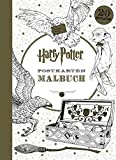 Harry Potter Postkartenmalbuch -