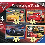Ravensburger - Puzzle 4 en una caja, Cars 3 (6894)