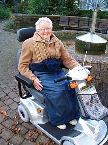 Wickeldecke für Rollstuhl und Elektromobil Größe XXL