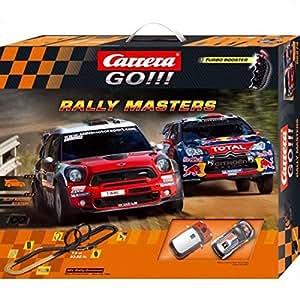circuit de voitures carrera go rally masters jeux et jouets. Black Bedroom Furniture Sets. Home Design Ideas