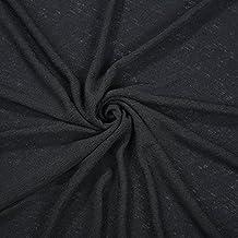 Efecto lino tejido de punto jersey Neotrims, fotografía para bebé con mango de Drape, de cuadros de textura suave, vestido de prendas de vestir y telón de fondo, Lino, Dusky Coral, 2 m
