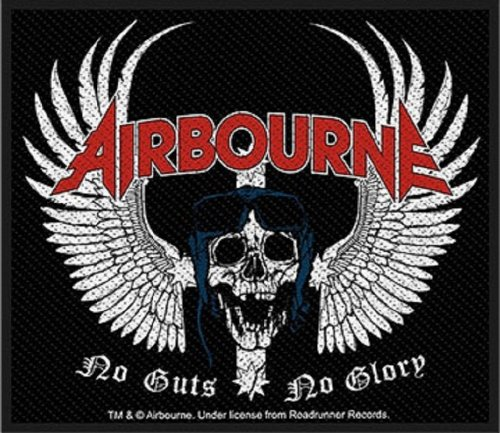 AIRBOURNE SKULL WING Patch