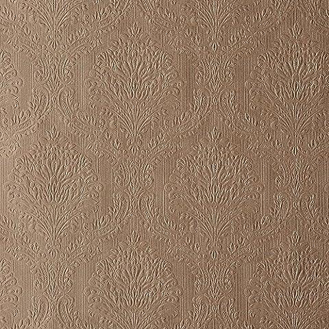 Bhf 61-55462 - Tela de mediados del papel pintado - cobre